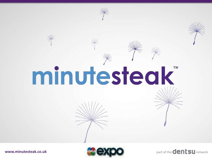 www.minutesteak.co.uk   part of the   network