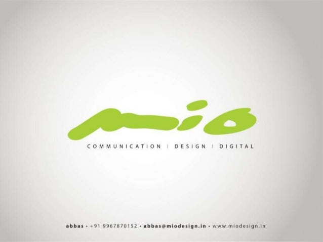 About Us If it's communication, it's got to do with MIO - across digital and analog media. In other words, what you have i...