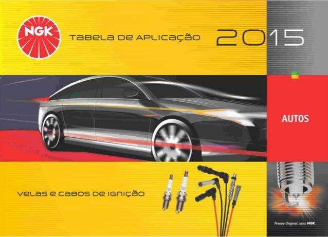 1 VELAS E CABOS DE IGNIÇÃO NGK 2015 FIAT FIAT 147 / Panorama / Rallye 1050 / 1300 Gasolina / GNV BP5ES BPR5EY-D / BPR5EY 0...