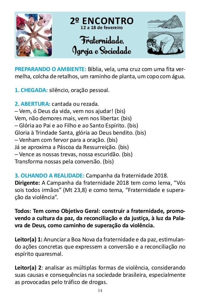 campanha da fraternidade 2018 pdf