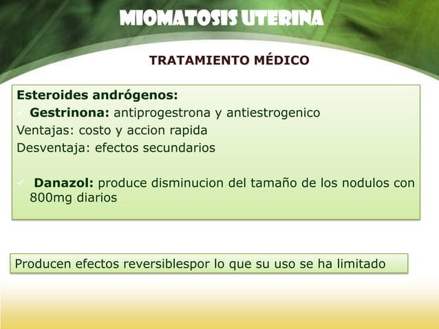 TRATAMIENTO QUIRURGICO RESECCION HISTEROSCOPIC A Mioma submucoso Conserva funcion reproductora y menstrual. Ventaja: resta...