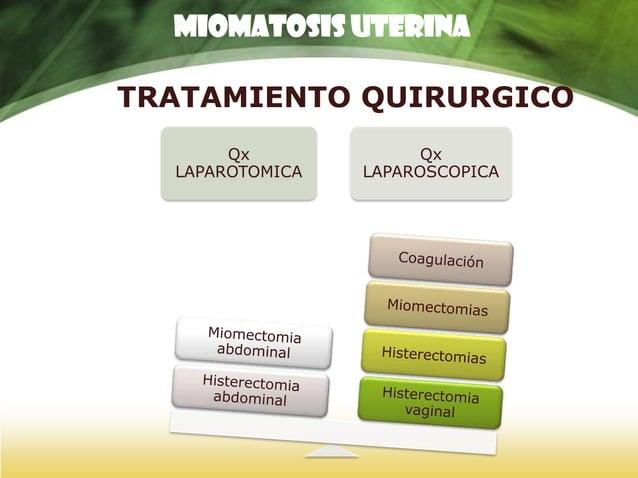 MIOMATOSIS UTERINA  EMBOLIZACIÓN DE MIOMAS UTERINOS.  La embolización consiste en interrumpir el flujo sanguíneo  de la...