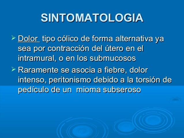 Miomatosis uterina: ¿Qué son los miomas?, ¿cuáles son sus