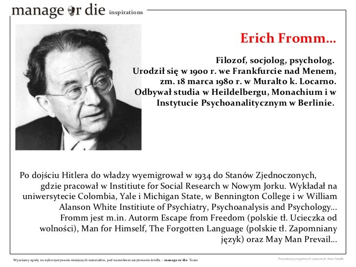 erich fromm escape from freedom pdf