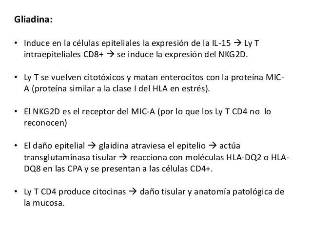 Patología anatómica de enfermedad celiaca, enfermedad inflamatoria in…