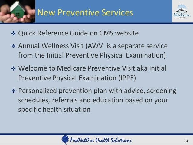 mipct webinar 03 06 2013 rh slideshare net Medicare Preventive Visits Welcome to Medicare Physical