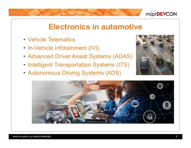 MIPI DevCon 2016: MIPI in Automotive