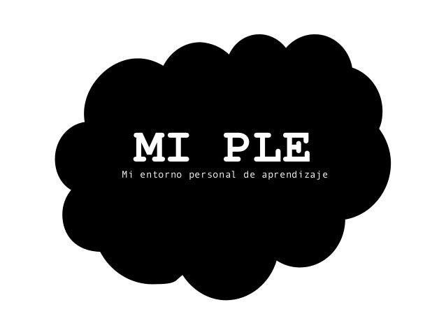 MIPLEMi entorno personal de aprendizaje