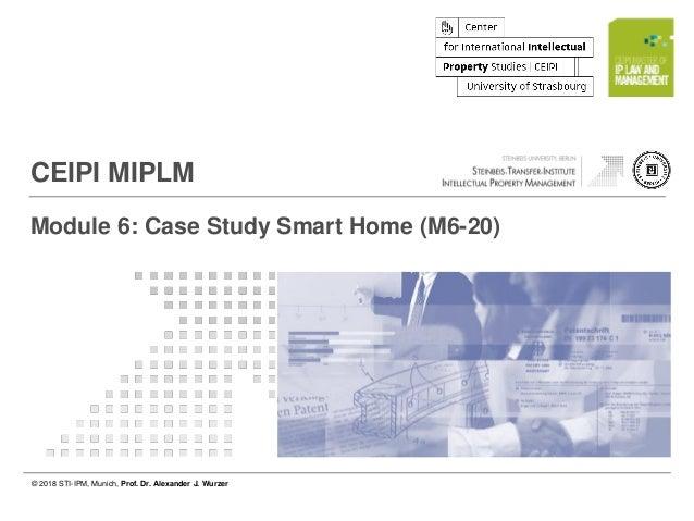 © 2018 STI-IPM, Munich, Prof. Dr. Alexander J. Wurzer Page 1 of 11 © 2018 STI-IPM, Munich, Prof. Dr. Alexander J. Wurzer C...