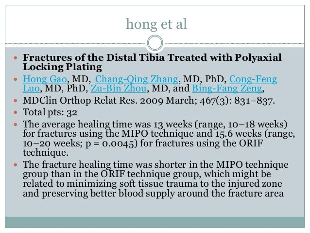 what is plate osteosynthesis The use of minimally invasive plate osteosynthesis (mipo) via anterolateral deltoid splitting has good outcomes in the management of proximal humerus fractures while.