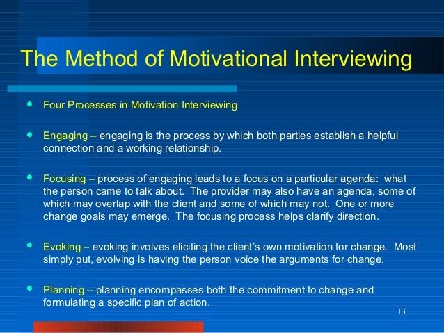 motivational interview essay