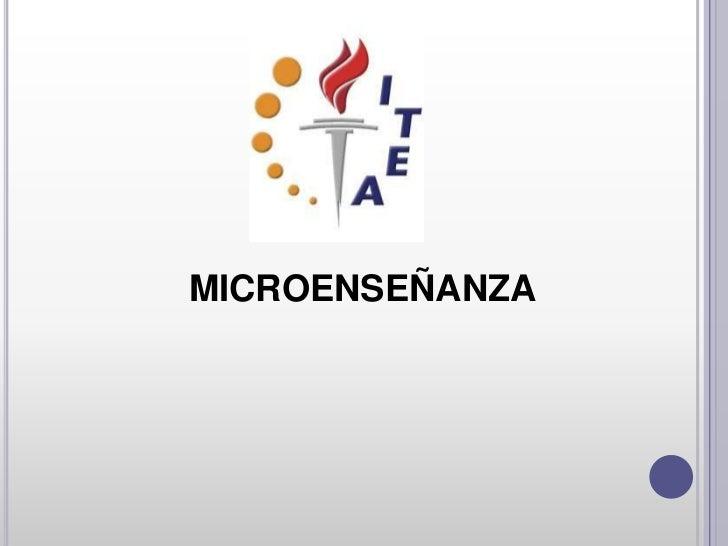 MICROENSEÑANZA