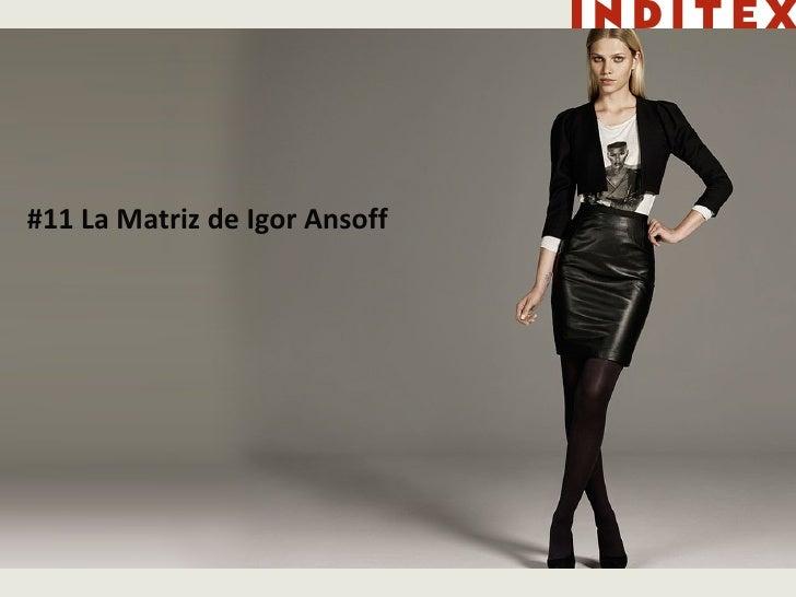 #11 La Matriz de Igor Ansoff