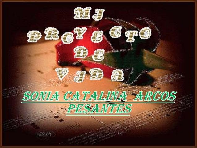  Yo me llamo Sonia Catalina Arcos Pesantes, naci el 18 de octubre de 1994.  Vivo en la ciudad de la Troncal  Inicie mi ...