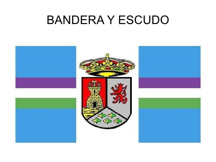 BANDERA Y ESCUDO PIZARRA