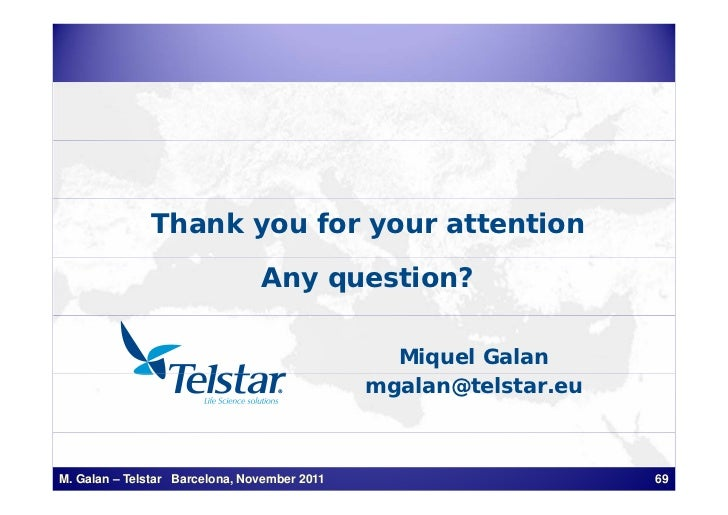 Thank you for your attention                                Any question?                                                M...