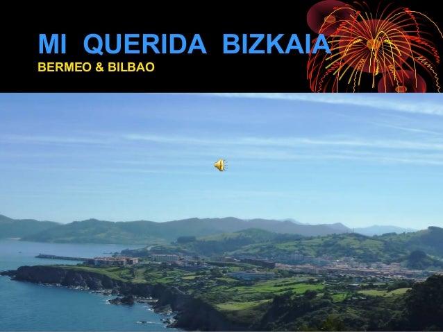 MI QUERIDA BIZKAIA BERMEO & BILBAO