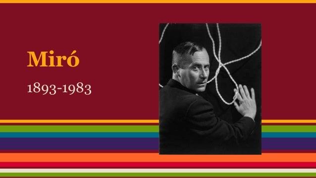 Miró  1893-1983