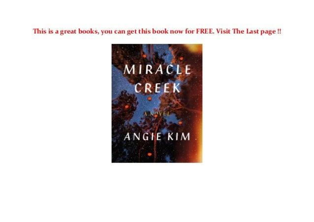 Miracle Creek Book