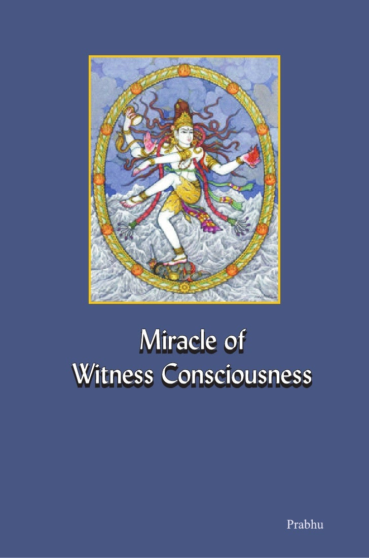 MiracleofWintnessConciousnessCover Page