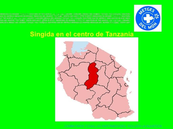 Singida   en el centro de Tanzania
