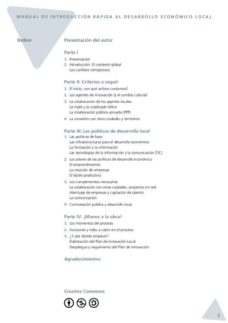 Manual de Introducción Rápida al Desarrollo Económico Local Slide 3