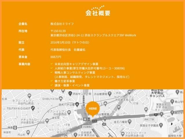 ミライフ会社紹介資料 Slide 2