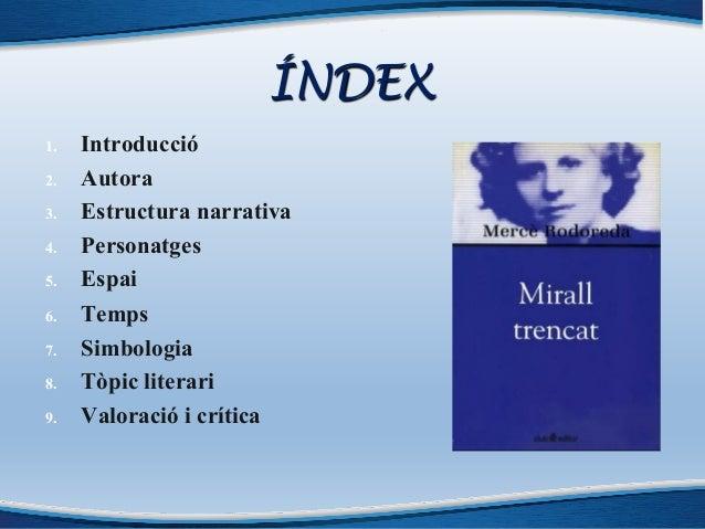 Anàlisi Mirall trencat (nou) Slide 2