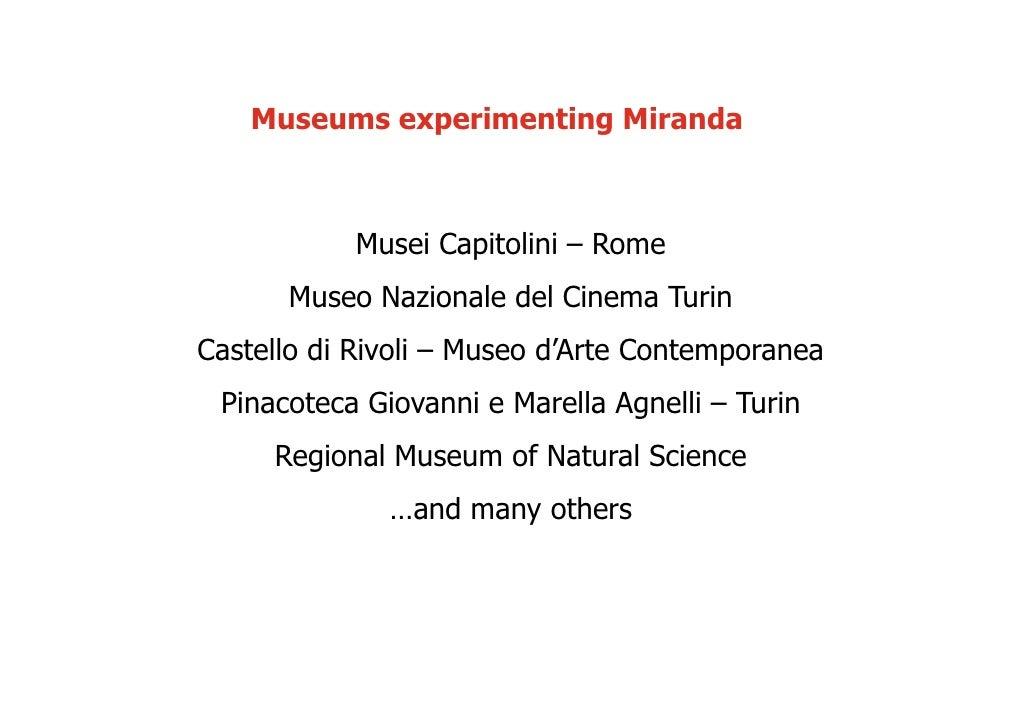 Miranda Presentation Fitzcarraldo  Jmb
