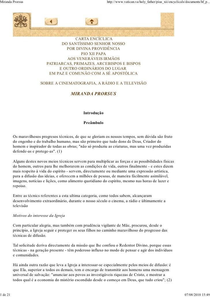 Miranda Prorsus                                                   http://www.vatican.va/holy_father/pius_xii/encyclicals/d...