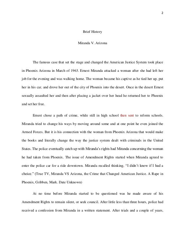 miranda more than words essay