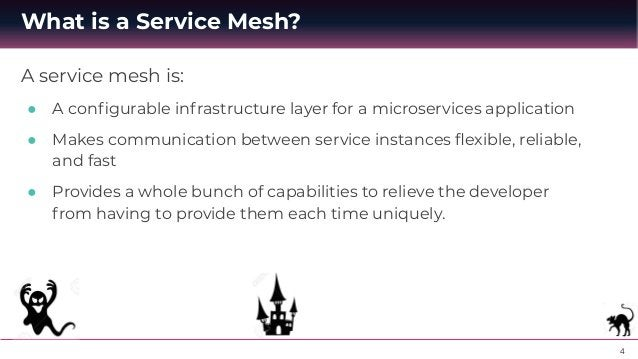 """5 ● Service Discovery - Allows the different services to """"discover"""" each other when needed. The Kubernetes framework keeps..."""