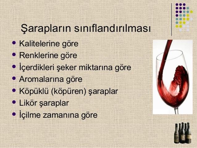 Şarapların sınıflandırılması