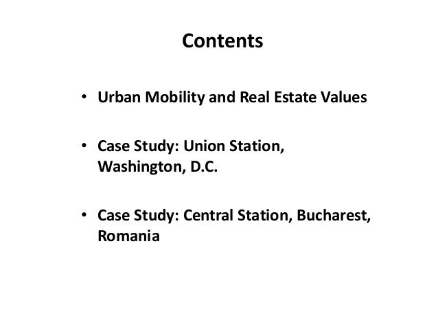 Impact of planning and development on property values