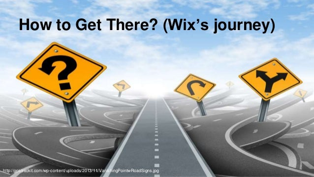 @aviranm How to Get There? (Wix's journey) http://gpstrackit.com/wp-content/uploads/2013/11/VanishingPointwRoadSigns.jpg