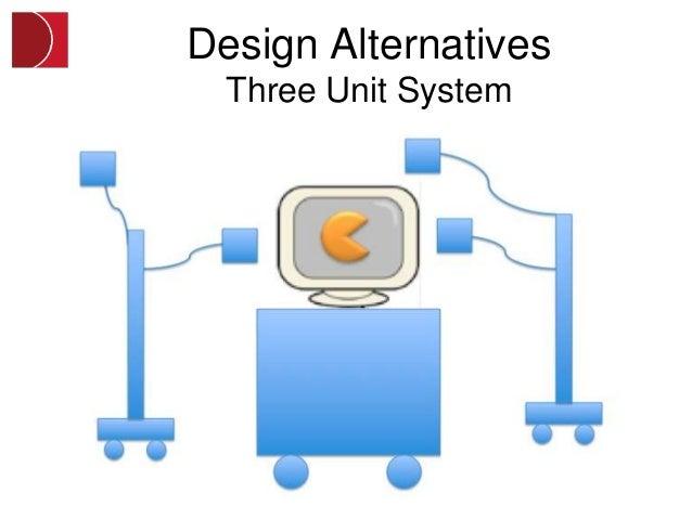 Design Alternatives  Three Unit System