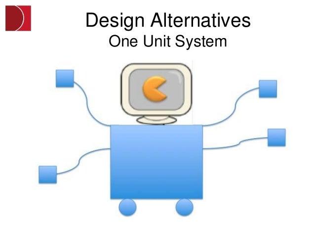 Design Alternatives  One Unit System