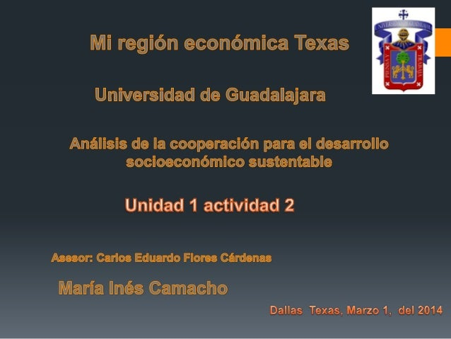 Productos de Texas