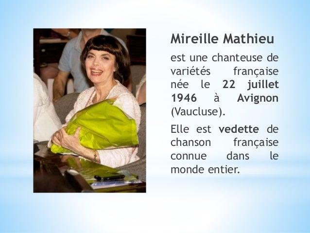 Mireille mathieu Slide 2