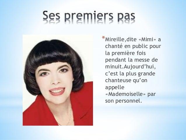 Mireille mathieu Slide 3