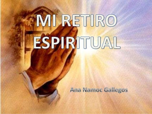 Mi Retiro Espiritual