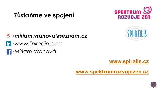 Miriam Vránová - Networking a jeho moc v dnešním světě