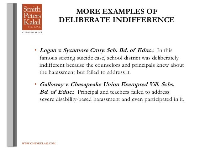 Deliberate Indifference To Hostile >> Miriam S Bullying Ppt Presentation
