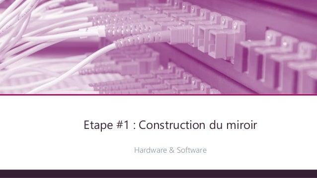 Miriot devcon programmez for Application miroir pc