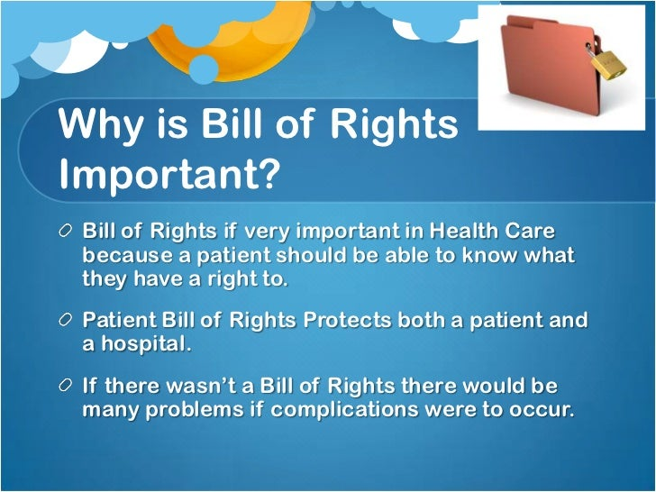 A discussion on the problems related to the bill of rights