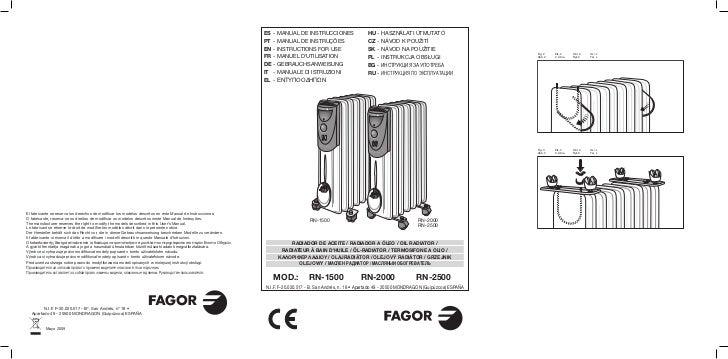 Mi rn 1500 2000 2500 servicio tecnico fagor for Servicio tecnico fagor granada