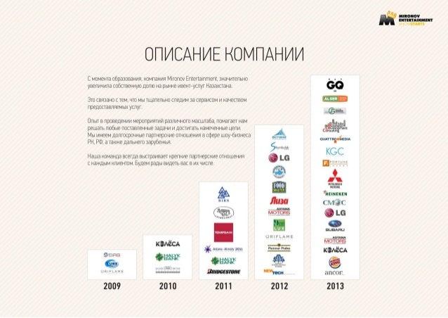Mironov entertainment 2014 Slide 3