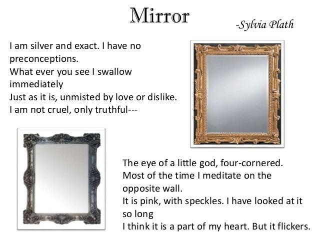 mirror sylvia plath essays