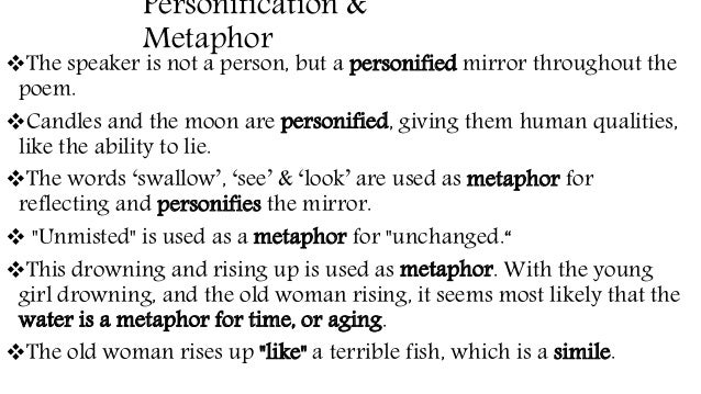 mirror by sylvia plath analysis top essay writing analysis of poem mirror by sylvia plath letterpile course hero