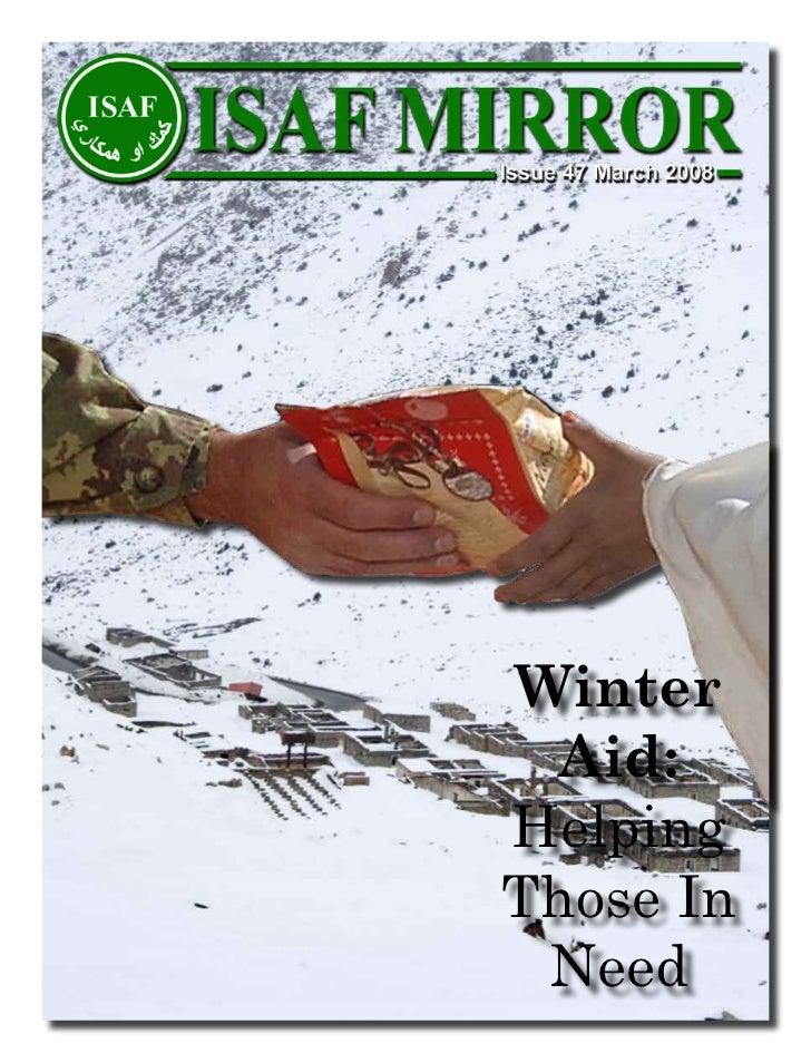 Winter  Aid:HelpingThose In Need